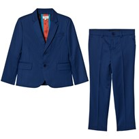 Paul Smith Junior Royal Blue Cool Wool Suit 450