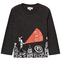 Paul Smith Junior Dark Grey Astronaught Glow in the Dark and Reflective Tee 24