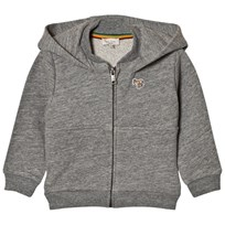 Paul Smith Junior Grey Marl Logo Hoody 294