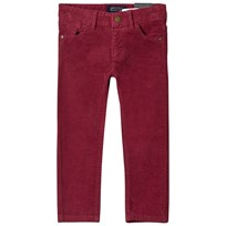 Mayoral Burgundy Slim Fit Cords 41