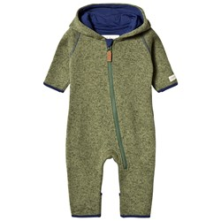 ebbe Kids Tava Fleece Suit Forest Green