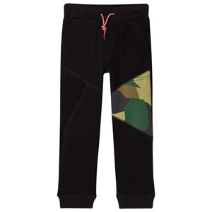 Image of Diesel Black and Camo Sweat Pants 6 years (3006286053)