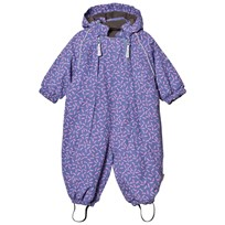 Mikk-Line Snow Suit Blue Ice Purple Blue ice Purple