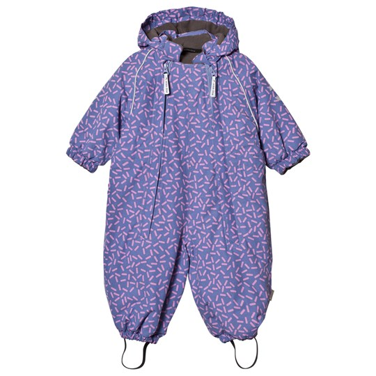 Mikk-Line Overall Blue Ice/Lila Blue ice Purple