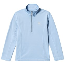 Bogner Pale Blue Ada Half Zip Baselayer