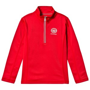 Image of Bogner Red Enno Half Zip Base Layer S (5-6 years) (2793701159)