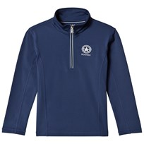 Bogner Navy Enno Half Zip Base Layer 417