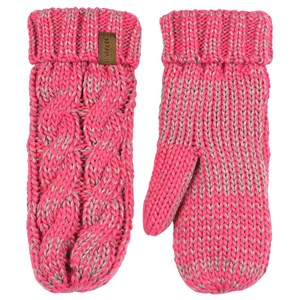 Image of Lindberg Mittens Cerise and Grey 8/M (867452)