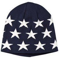 Gant Navy and White Star Beanie 410