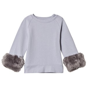 Image of How To Kiss A Frog Furry Jumper Grey/Grey Light Grey 4 år (2793695945)