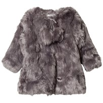 How To Kiss A Frog Muriel Coat Grey Black