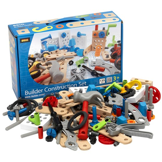 BRIO BRIO Builder - 34587 Construction Set Blue
