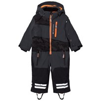 Lindberg Brighton Snowsuit Anthracite Musta