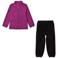 Lindberg Umeå Fleece Pants and Jacket  Set Multi