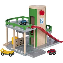 BRIO Parking Garage set Green