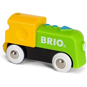 Image of BRIO BRIO® My First Railway - 33705 Battery Engine 12 mdr. - 6 år (846495)