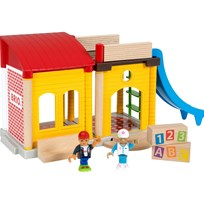 BRIO BRIO World - 33943 Village Vår skola Multi