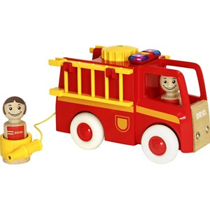 Image of BRIO BRIO® My Home Town – 30383 Light and Sound Fire Truck 12 months - 8 years (2793699593)