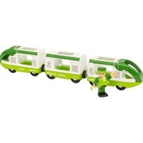 BRIO BRIO World - 33622 Grönt passagerartåg Green