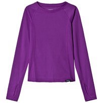 Lands End Pink Thermaskin Heat Baselayer Top Twilight Violet 3WA