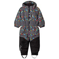 Isbjörn Of Sweden Penguin Snowsuit Grey Black