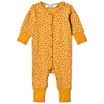 Anïve For The Minors Baby One-Piece Tiny Dots Yellow Yellow
