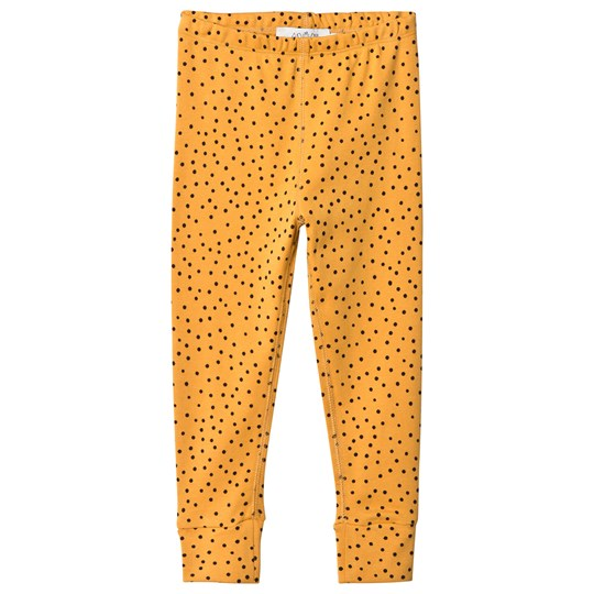Anïve For The Minors Leggings Tiny Dots Yellow Yellow