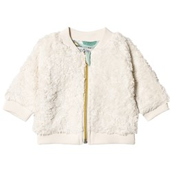 Anïve For The Minors Baby Jacket Teddy White