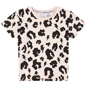 Image of Scamp & Dude Blush Leopard Print Tee 1-2 years (2793697661)