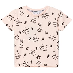 Image of Scamp & Dude Blush Slogan Print Tee 1-2 years (2793699949)