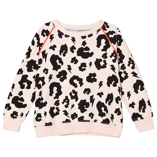 Scamp & Dude Blush Leopard Print Sweatshirt Blush