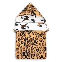 Mini Rodini Leopard Sleeping Nest Beige бежевый