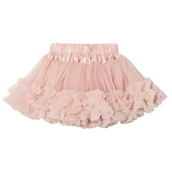 DOLLY by Le Petit Tom Frilly Skirt Ballet Pink