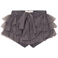 DOLLY by Le Petit Tom Chiffong Frilly Balett Shorts Mörkgrå Dark grey