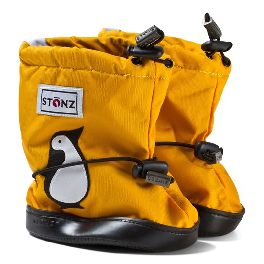 Stonz Booties Penguin Yellow Yellow
