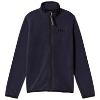 Helly Hansen Navy Junior Daybreaker Mid Layer Full Zip Fleece 994 Graphite Blue