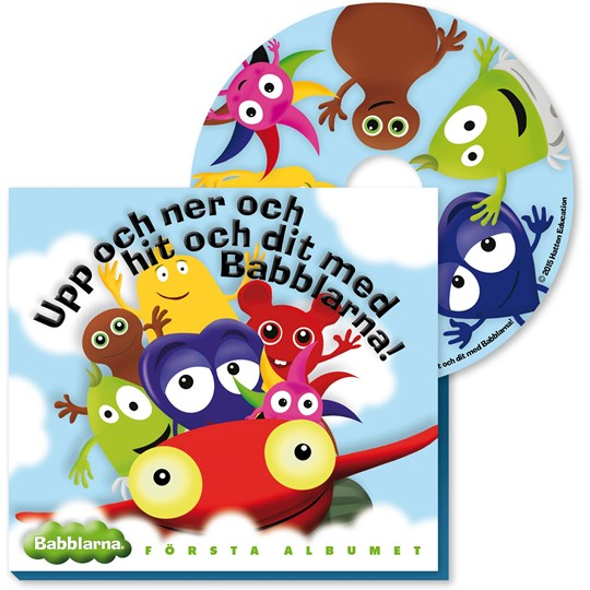 Babblarna Babblarna CD-Record First Album (Swedish) Multi