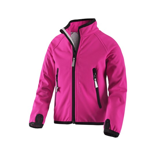 Reima Soft Shell Jacket Wallpass Pin Pink