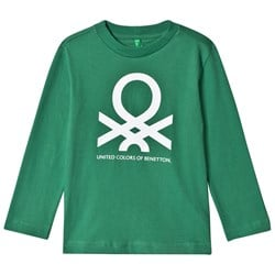 United Colors of Benetton L/S Logo T-Shirt Green