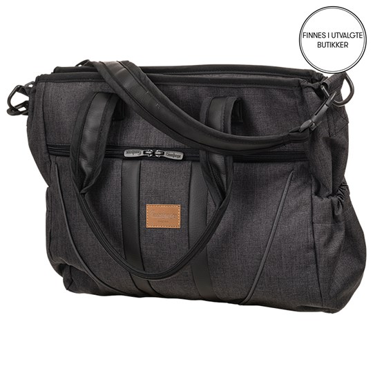Emmaljunga Sport Changing Bag Lounge Black 2018 Black