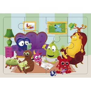 Image of Babblarna Jigsaw Puzzle 12 Pieces 3 - 6 years (2795414083)