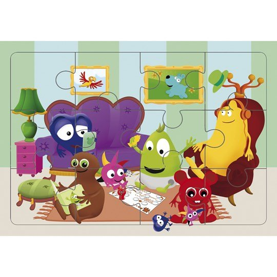 Babblarna Jigsaw Puzzle 12 Pieces Multi