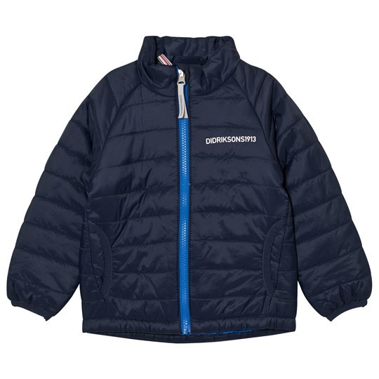 Didriksons Dundret Kid´s Jacket Navy Navy