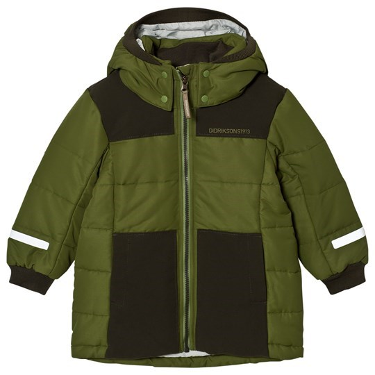 Didriksons Ris Kids Jacket Turtle Green Turtle gre