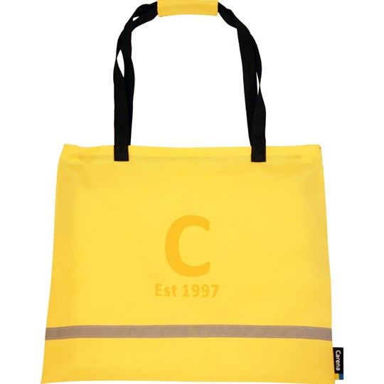 Carena Laxvik, Shopping bag, Gul Yellow