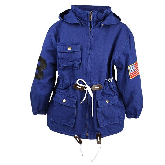 The BRAND Army Parka Blue Blue