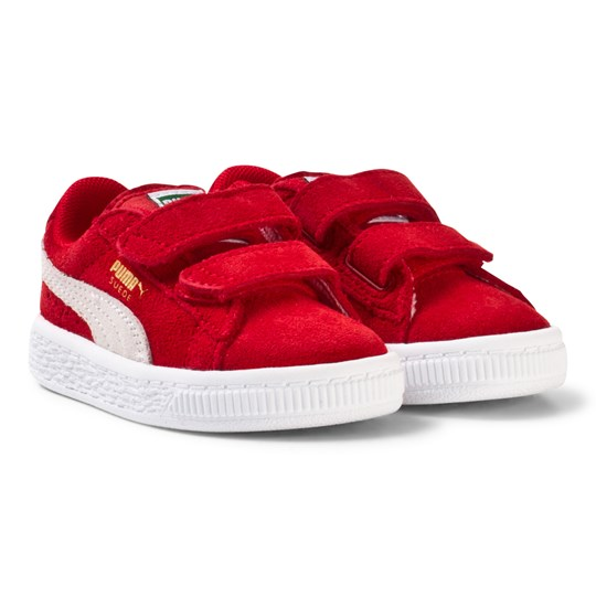 the latest 2a8c4 b618d Puma - Suede 2-Strap Kids Sneakers Red - Babyshop.com