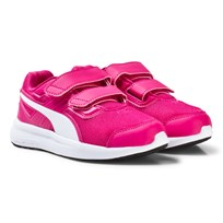 Puma Pink Escaper Mesh V Youth Sneakers Purple