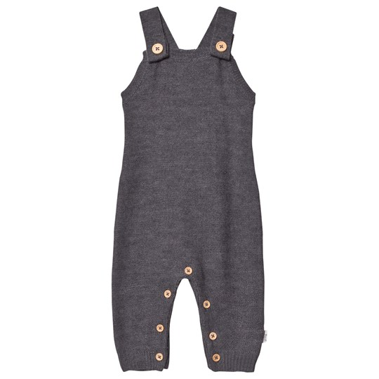 Hust&Claire Knit Overall Grey Grey Blend