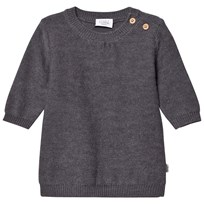 Hust&Claire Knit Sweater Grey Grey Blend